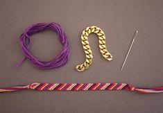 TAGS                                                                                 DIY Embellished Friendship Bracelets