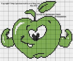 1000 images about point de croix fruits et l gumes on pinterest legumes cross stitch. Black Bedroom Furniture Sets. Home Design Ideas