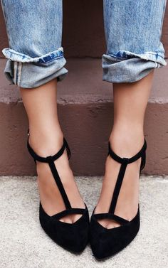 T-Strap Heels...perfect for fall