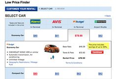 Costco Rental Car Low Price Finder  - other travel discounts