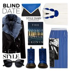 """What to Wear: Blind Date"" by the-reluctant-dragon ❤ liked on Polyvore featuring La Bête, Miu Miu, Derek Lam, Dr. Martens, INC International Concepts, women's clothing, women, female, woman and misses"