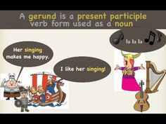 I had never heard this word before so this was perfect for this weeks lesson. ;) The Gerund Song, CC Week 19, Cycle 2 - YouTube