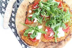 Zoete aardappelpizza – SKINNY SIX