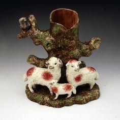 sheep staffordshire pottery figures uk -