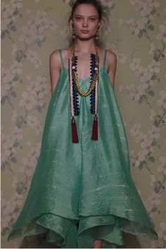 Glimmered Piperita Dress  *i really love the necklace though its by Akong London - What a statement piece.