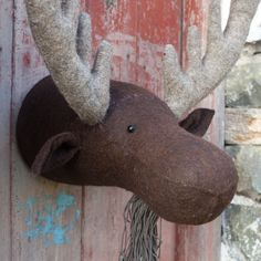 Felt Moose Head | Armstrong Ward Lifestore - Gifts Toys and Home Accessories