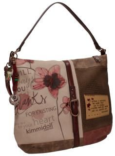 Umhängetasche Hobo Blumen Stickerei Anhänger kimmidoll - Bags & more Style, Fashion, Travel, Artificial Leather, Sachets, Handbags, Swag, Moda, Fashion Styles