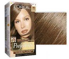 Výsledek obrázku pro farba na vlasy 6.23 loreal