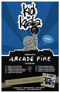 Kid Koala 'Reflektor Tour' March 2014