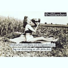 Ungefär så ja! #villfarelser #cocillana #queenofeverything #drink #quote #quotes #quoteoftheday #quotestoliveby #pic #picture #picofday #picstitch #picoftheday #pictureoftheday #hardass #heybitches #photooftheday #photograph #photogrid #photo #instagood #instaquote #instadaily by wallbeergskan Photo Grid, Different Quotes, Deep Words, Make Me Smile, The Twenties, Red And White, Funny Pictures, Stress, Lol