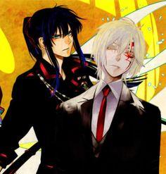 Allen Walker (アレン・ウォーカー) & Yuu Kanda (神田ユウ) | D.Gray-man (ディー・グレイマン), D.Grey-man, DGM