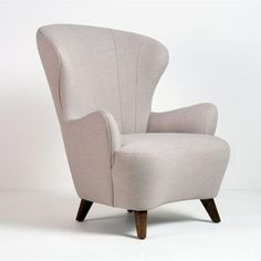 Weiman Preview Wing Chair - Almond || GratsDecor.com