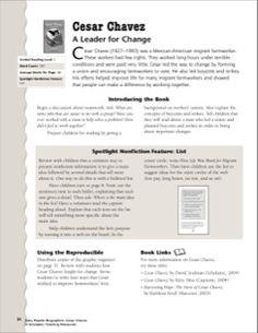 Chavez Worksheet | Human Rights | Pinterest | Worksheets, Cesar ...