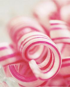 Peppermint candy canes twirls