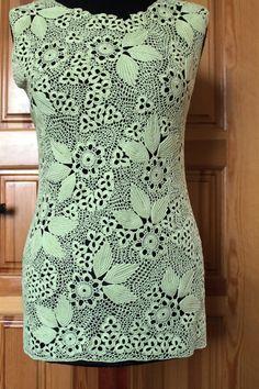 Irish lace dress, Russian site  club.osinka.ru :: Ирландское кружево - похвастушки 3