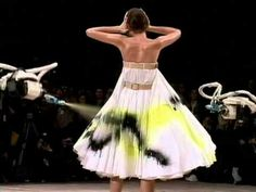 Alexander McQueen - Savage Beauty -- Although this was only 1999, this deserves a spot as a critically moment in contemporary high fashion history. I first saw this in a documentary. This is a moment where fashion is absolutely art.
