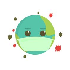 Earth Using Masker From Corona Virus Attack Vector and PNG Dna Drawing, Mask Drawing, Free Vector Graphics, Vector Art, Draw Vector, Easy Disney Drawings, Cartoon Drawings, Color Concept, Dream Background