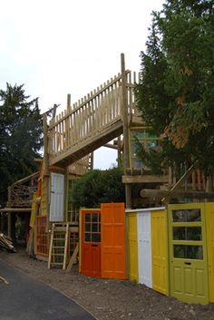 playscapes: Kilburne Grange Adventure Playground, Erect Architecture, Camden London, 2010