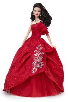 2012 Holiday Barbie Doll - Brunette - Collectible Dolls | Barbie Collector