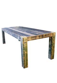 sloophout meubels - tafel van sloophout