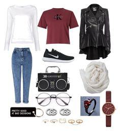 """CK outfit😛"" by hadiyak on Polyvore featuring Calvin Klein, Frame, Alexander McQueen, Miss Selfridge, NIKE, Brunello Cucinelli, Various Projects, Skagen, Gucci and LULUS"