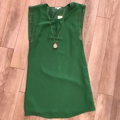 Gorgeous emerald green beaded dress by Jade    Runs longer for our tall ladies & fits true to size    Material: 100% polyester | Shop this product here: http://spreesy.com/frolicboutique/56 | Shop all of our products at http://spreesy.com/frolicboutique    | Pinterest selling powered by Spreesy.com