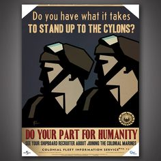 Battlestar Galactica Propaganda Poster Set