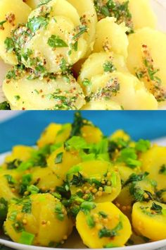 A simple vegan French potato salad recipe made with a tangy, grainy Dijon mustard vinaigrette and fragrant fresh herbs. Vegan Recipes Easy, Veggie Recipes, Salad Recipes, Picnic Recipes, Picnic Ideas, Veggie Meals, Cake Recipes, French Potato Salad, French Potatoes