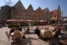 Bielefeld - LOVE it! The green market is so much fun on Saturdays.