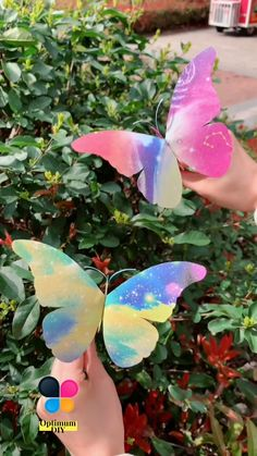 Hand Crafts For Kids, Diy Crafts For Home Decor, Diy Crafts Hacks, Diy Arts And Crafts, Creative Crafts, Fun Crafts, Preschool Crafts, Paper Butterfly Crafts, Paper Flowers Craft