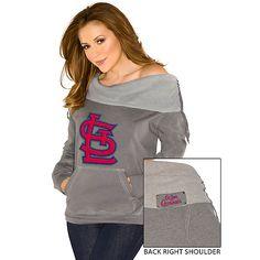 Touch by Alyssa Milao St. Louis Cardinals Away Game Sweatshirt