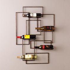 Valier Wall Mount Wine Sculpture | Nebraska Furniture Mart
