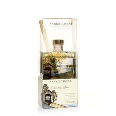 Over the River Signature 3oz Reed Diffuser by Yankee Candle by Yankee Candle. $19.99. Long Lasting Continuous Fragrance. No Water to Dilute Fragrance. Consistent Fragrance from Beginning to End. Yankee Candle Signature Reed Diffuser. Enjoy America's best loved fragrances for your home in decorative fashion! This attractive reed diffuser continuously delivers the same long lasting, true-to-life Yankee® fragrance... watery green notes with hints of sage, amber and oak. Plus, th...