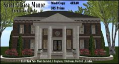 Saint Claire Manor | Coeur Virtual Worlds