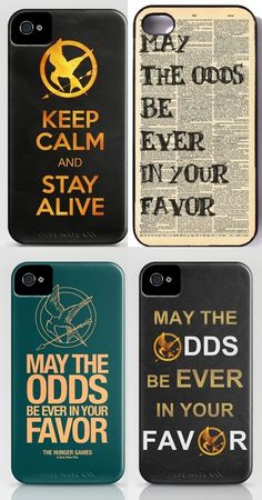 Hunger Games: Iphone cases