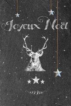 Merry Christmas.  Love, the bodiless chalk deer in the night sky watching you sleep (and waiting for the perfect moment to strike).  Sweet dreams, Lidya.