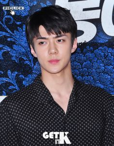 Sehun - 160704 'Seondal: The Man Who Sells The River' VIP première Credit: Get It K. ('봉이 김선달' VIP 시사회)