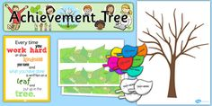 Ready Made Achievement Tree Display Pack
