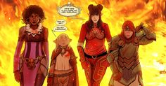 Stjepan Šejic - new permanent artist for Rat Queens! The man's got great skill