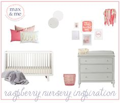 Max & Me: Raspberry Nursery Inspiration