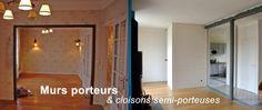 Murs porteurs & cloisons semi-porteuses