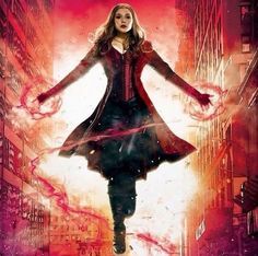 Scarlet Witch promotional art offers best looks yet at her look in CAPTAIN AMERICA: CIVIL WAR!