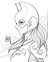 Resultado De Imagem Para Desenhos Para Colorir Batgirl