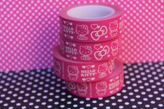Washi tape Hello kitty in pink by Raquelbcn on Etsy