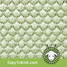 The stitch is easy to make yet looks so hard. Once you get comfortable with the dropped stitch technique you'll want to knit bubbles again and again. Knit Purl Stitches, How To Purl Knit, Baby Knitting, Stitch Patterns, Bubbles, Crochet Hats, It Cast, Texture, Easy