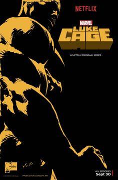 Chequen el póster oficial de la serie de Luke Cage