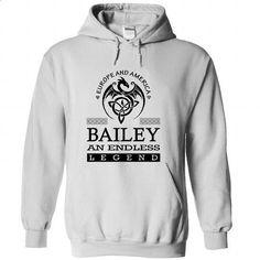 BAILEY - #tshirt bemalen #sweatshirt quotes. BUY NOW => https://www.sunfrog.com/Names/BAILEY-rkdvhdjnbq-White-47969722-Hoodie.html?68278