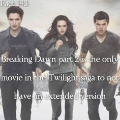 """~ I'm watching Breaking Dawn part 2 right now. I love all the jokes Emmett makes and the """"you imprinted on my daughter?!"""" part - QOTD: Do you like human Bella or Vampire Bella better? {#twilightsaga#breakingdawnpart2}"""