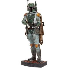 Just one of the purchases I'll make when I win the Lottery.  Boba Fett Life-Size Figure