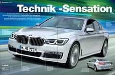 "New 2016 BMW 7 Series - ""A Technical Wonder"" - http://www.bmwblog.com/2014/12/14/new-2016-bmw-7-series-technical-wonder/"